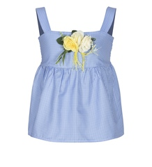 Топ Blue flowers New 4905-25