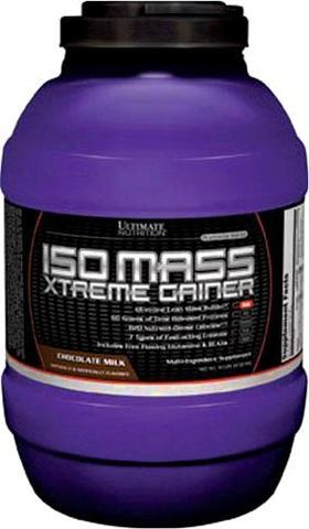 Гейнер Ultimate Nutrition Iso Mass Xtreme Gainer