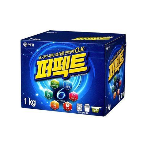 Концентрированный стиральный порошок универсальный Aekyung Perfect 6 Solution 1 кг