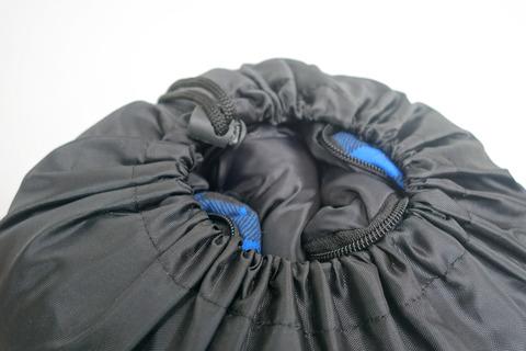 Спальный мешок INDIANA Maxfort, компрессионный зажим.