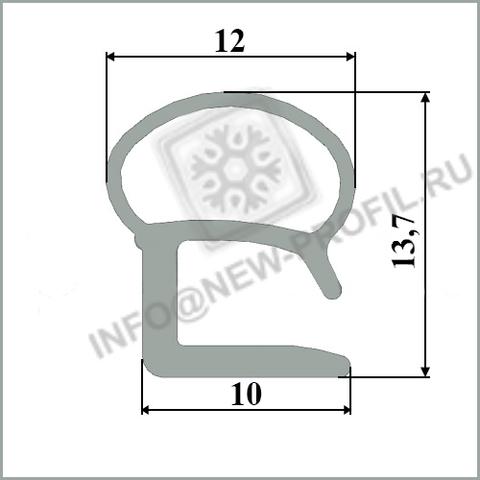 Уплотнитель для холодильника Стинол 106 м.к 280*480 мм (015)