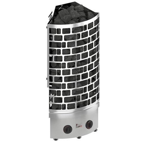 Электрическая печь SAWO ARIES ARI3-45NB-CNR-P (4.5 кВт, угловая, нерж. сталь, со строенным управлением)