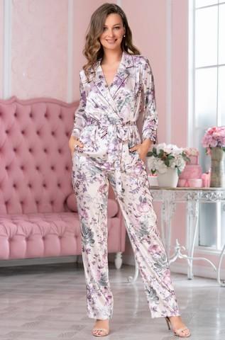 Шелковая пижама-тройка Mia Amore Miracle (70% нат.шелк)