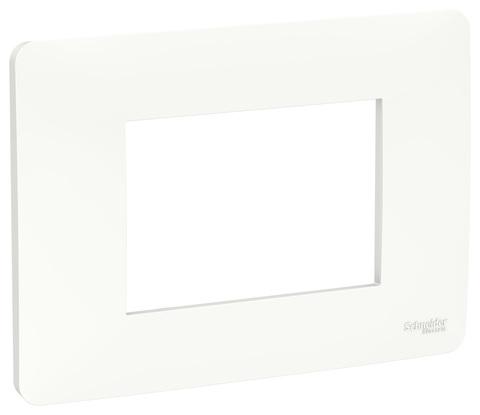 Рамка 3-модульная, Цвет Белый. Schneider Electric. Unica Modular. NU210318