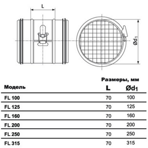 FL d 250 ультракомпактный фильтр