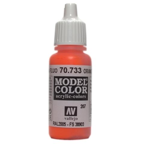 Model Color Orange Fluo 17 ml.