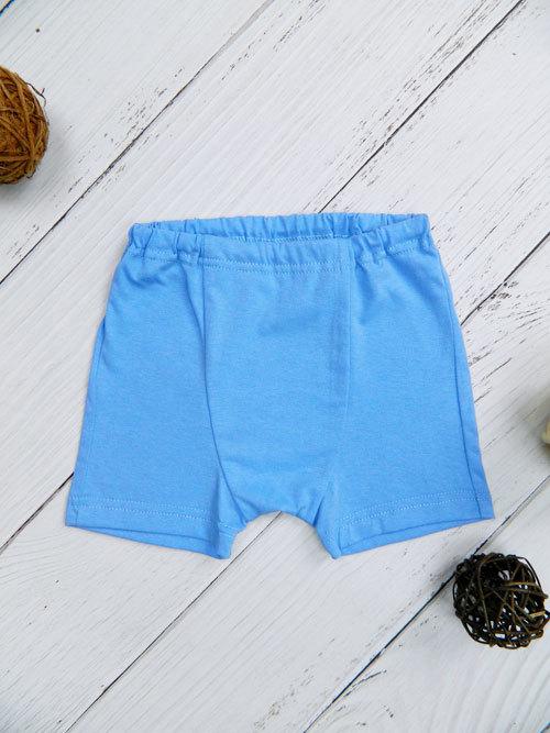 Трусы-шорты для мальчика, 2635, голубые