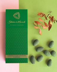 Миндаль в шоколаде с морингой 150 г, Чехия