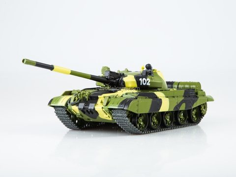 Tank T-62M Our Tanks #40 MODIMIO Collections