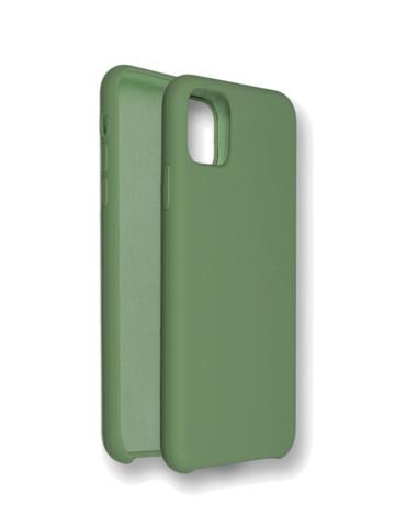 Чехол для iPhone 11 Софт тач мягкий эффект | микрофибра болотный
