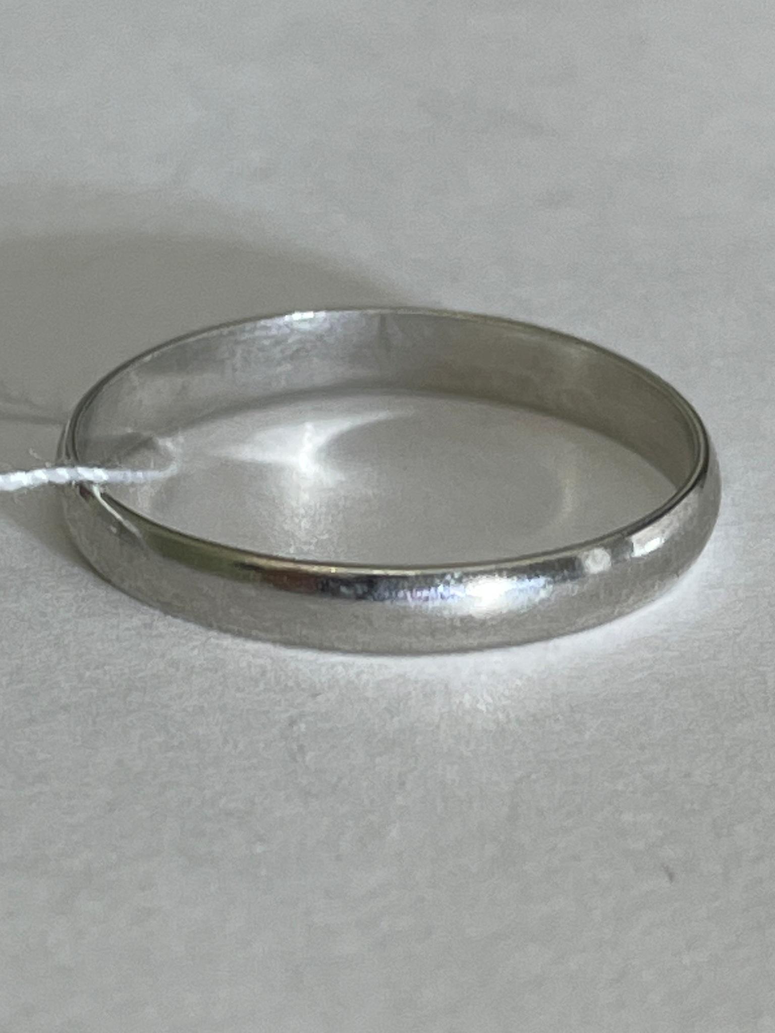 Обручальное 4 (кольцо из серебра)