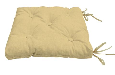 Подушка на стул Адриана бежевый