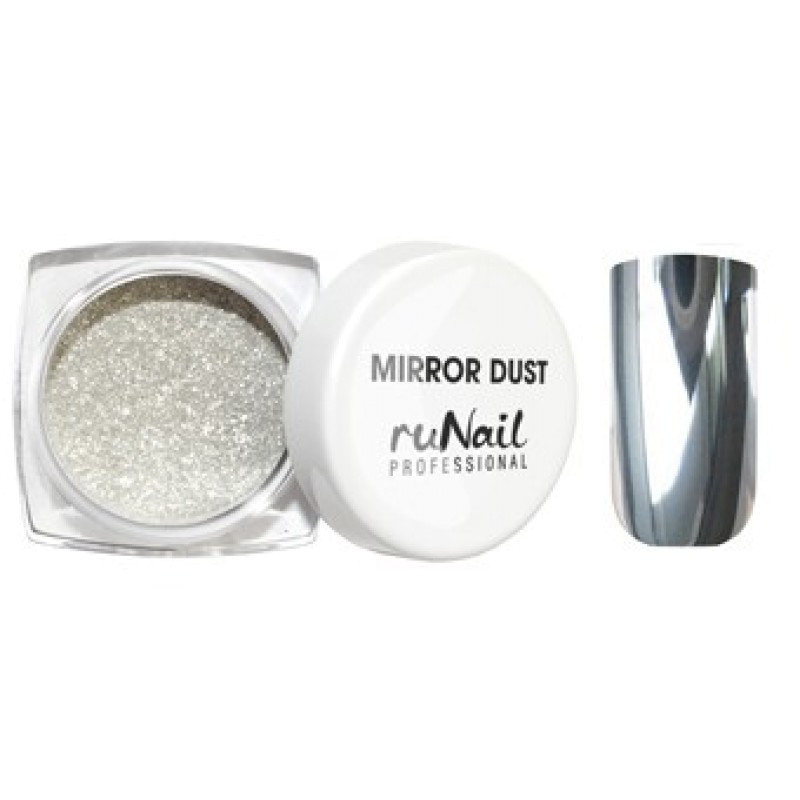 Втирка ruNail, Зеркальная пыль для втирки с аппликатором, Mirror Dust, серебро, 1 г mirror-dust-zerkalnaya-pyl-dlya-vtirki-s-applikatorom-cvet-serebro-art-3173.jpg