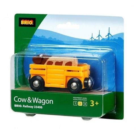 BRIO Вагон с коровой