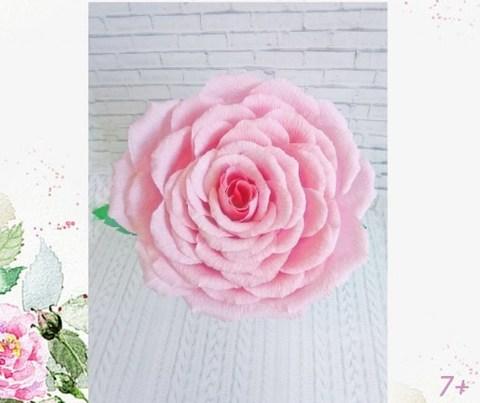 032_7974 Набор для изготовления цветка из гофробумаги