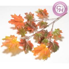 Кленовые листья на ветке, 70 см.