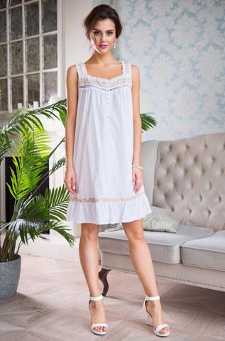 Сорочка ночная женская хлопковая MIA-MIA  Helene 16194