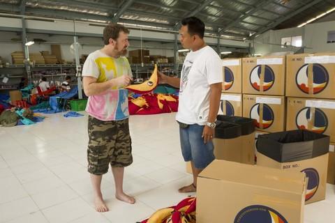Цех по производству гамаков на о. Бали.