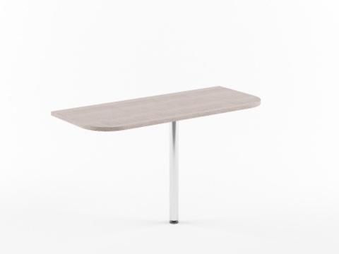 XKD 146+ВТ-710 Приставка к столу с опорой (1406х600х750)