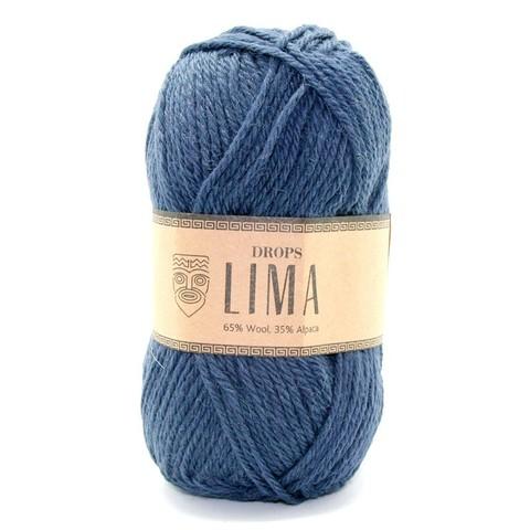 Пряжа Drops Lima 4305 индиго