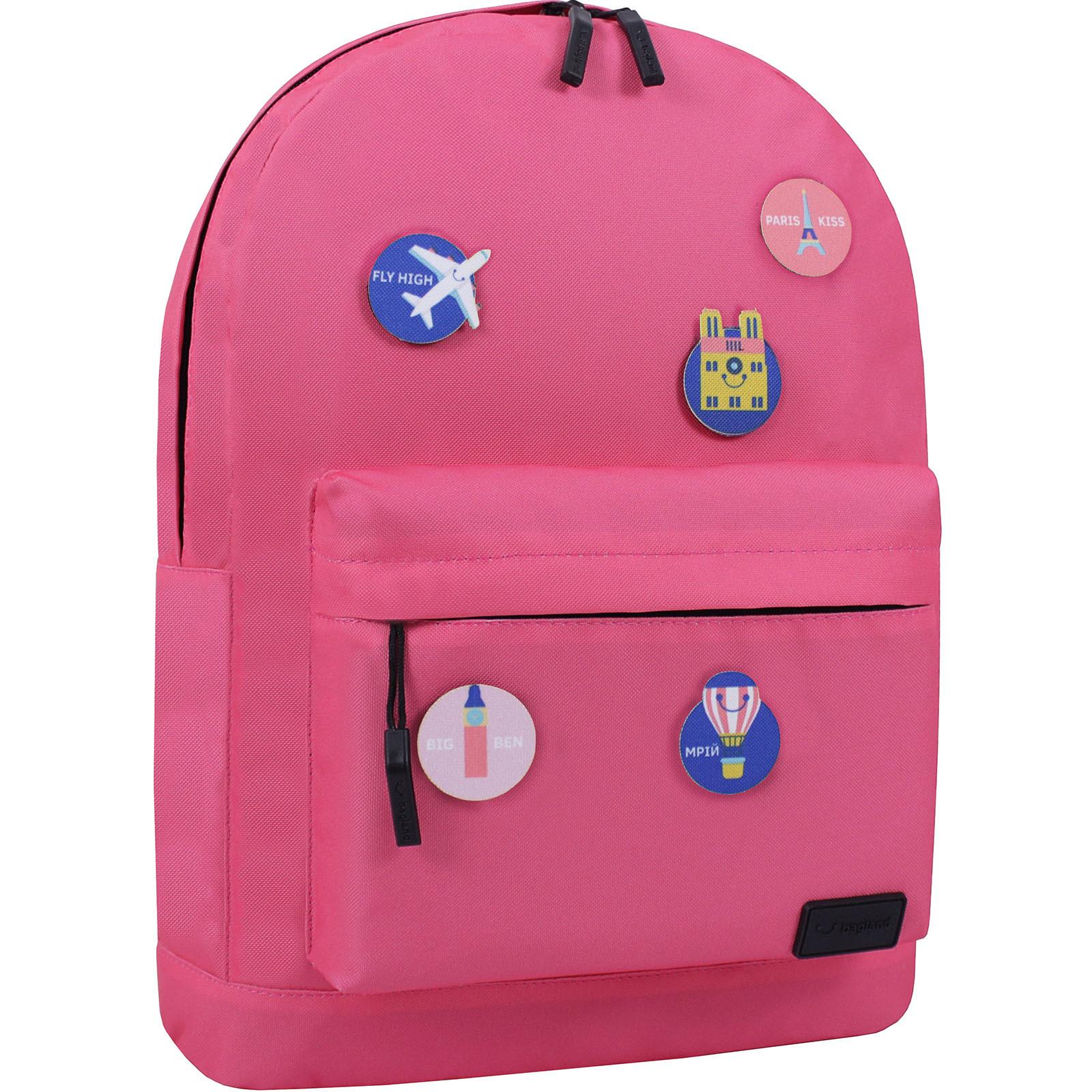 Рюкзак Bagland Молодежный W/R 17 л. Розовый (00533664 Ш) фото 2