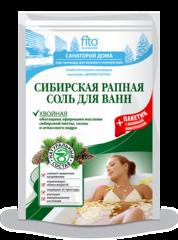 Соль для ванн Сибирская рапная Хвойная 500 г. ТМ Фитокосметик