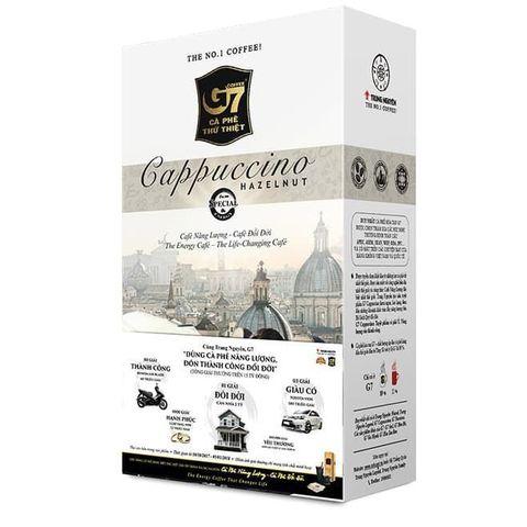 Растворимый кофе капучино 3в1 Trung Nguyen ЛЕСНОЙ ОРЕХ. Коробка 12х12 штук.