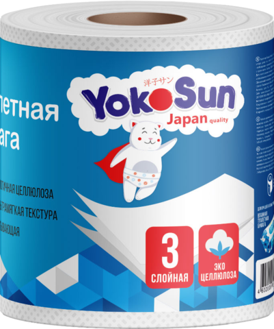 Туалетная бумага Yokosun