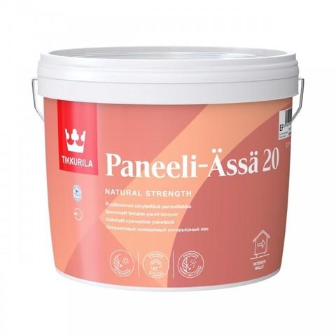 Tikkurila Paneeli Assa 20 / Тиккурила Панеля Ясся 20 лак для стен акриловый полуматовый