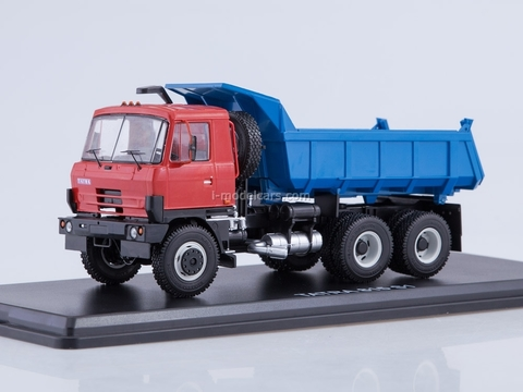 Tatra 815S1 tipper red-blue 1:43 Start Scale Models (SSM)