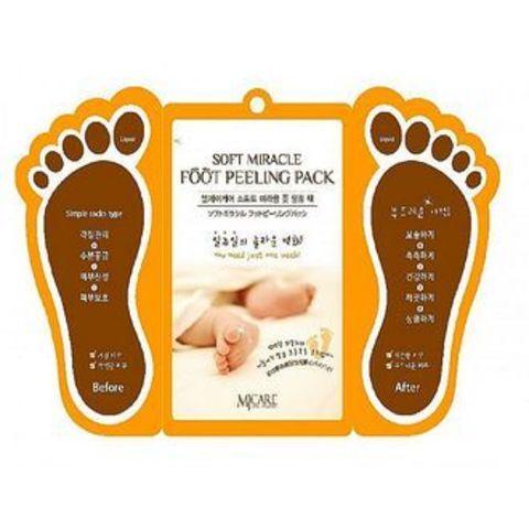 Mijin Cosmetics Foot Peeling Pack пилинг для ступней