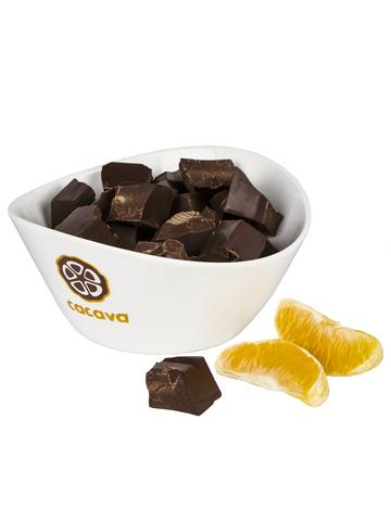 Тёмный шоколад с апельсином 70 % какао (Эквадор), внешний вид