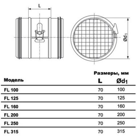 FL d 315 ультракомпактный фильтр