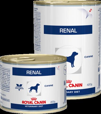 Royal Canin Renal для собак при ХПН