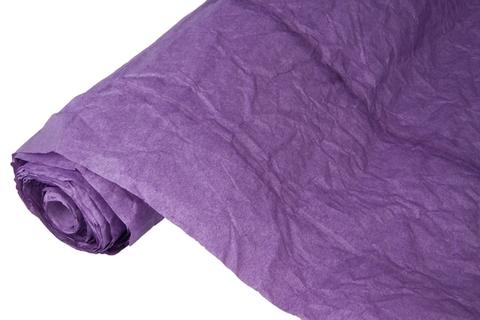 Бумага жатая эколюкс 70см х 5м фиолетовая 14