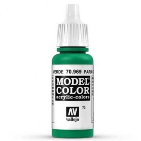 Model Color Park Green Flat 17 ml.
