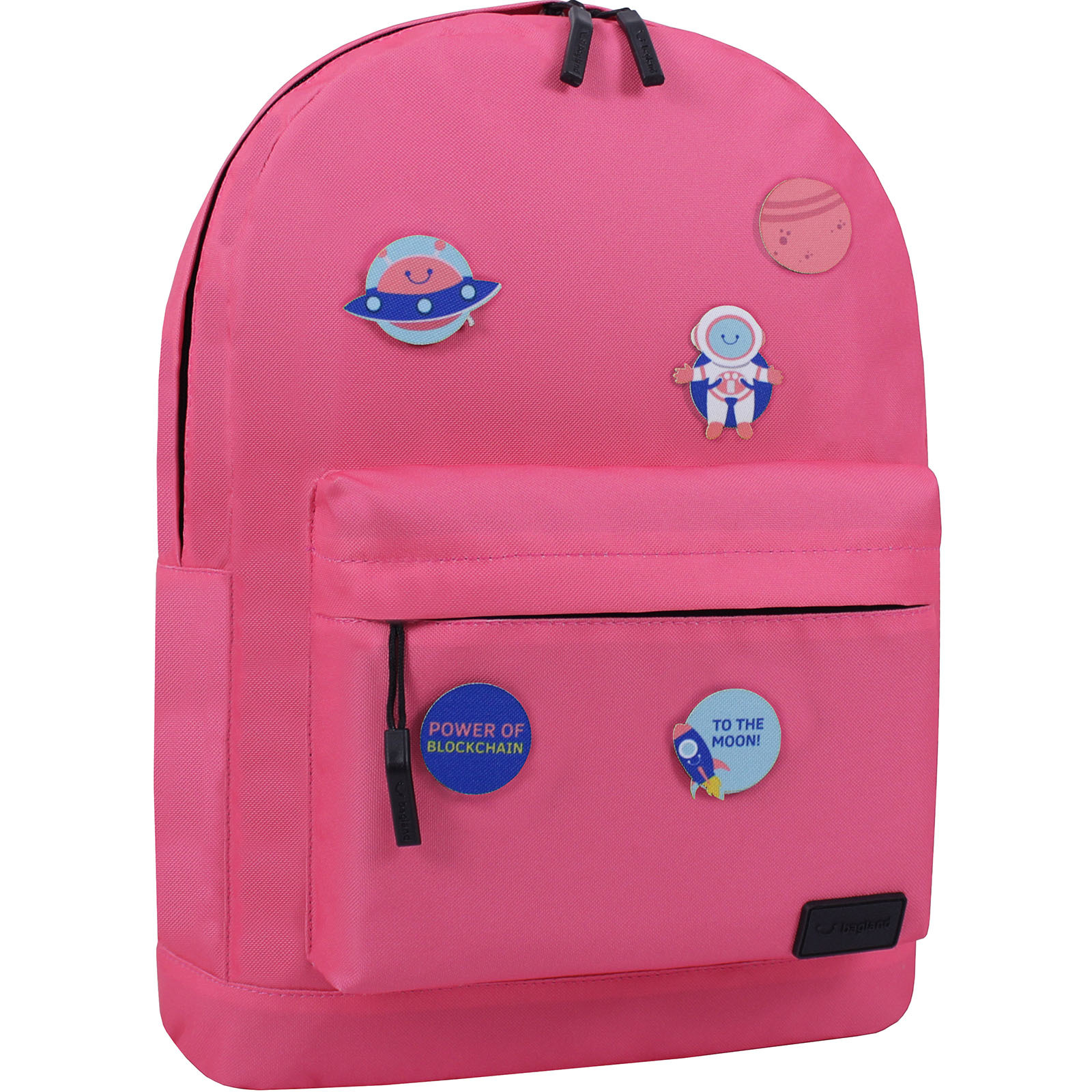 Рюкзак Bagland Молодежный W/R 17 л. Розовый (00533664 Ш) фото 3