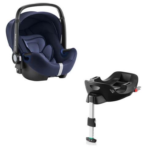 Автокресло Britax Roemer Baby-Safe2 i-Size Moonlight Blue + Base Flex Isofix