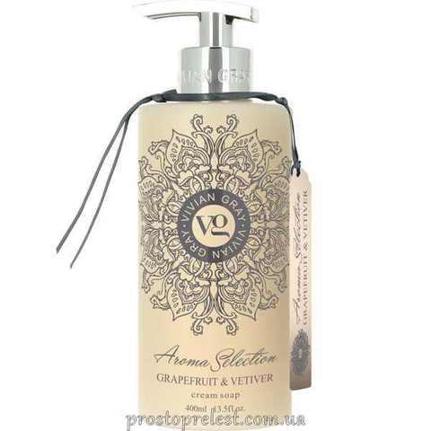 Vivian Gray Aroma Selection Grapefruit & Vetiver Cream Soap - Рідке крем-мило