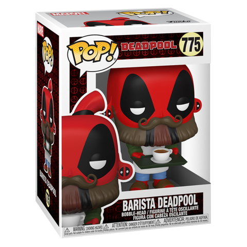Deadpool 30th Coffee Barista Funko Pop! Vinyl Figure || Дэдпул Бариста