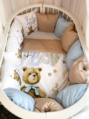Бортики для кроватки с одеялком «BabyBoy»