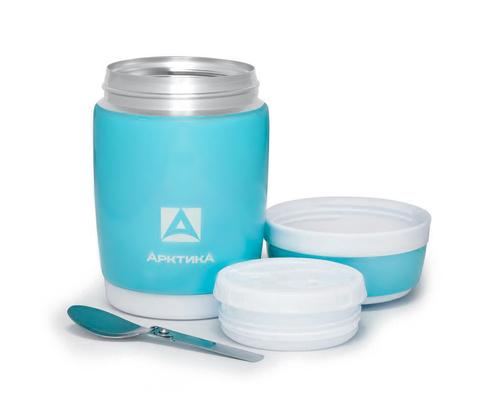 Термос для еды Арктика (0,38 литра), синий
