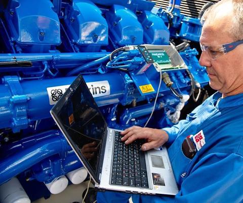 Диагностика двигателя Perkins (выезд инженера)