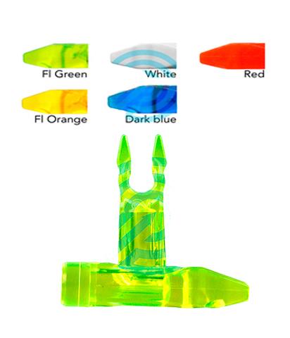 Хвостовик стрелы лука спортивного Beiter Nocks Pin-Out X10 145/2