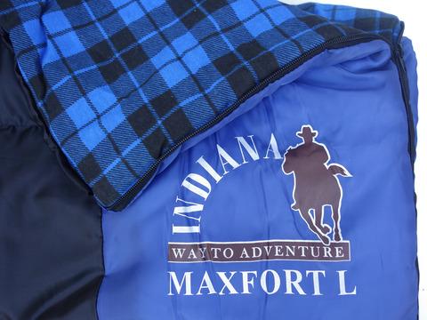 Спальный мешок INDIANA Maxfort, логотип.