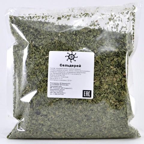 Сельдерей зелень сушеный резаный, 100г