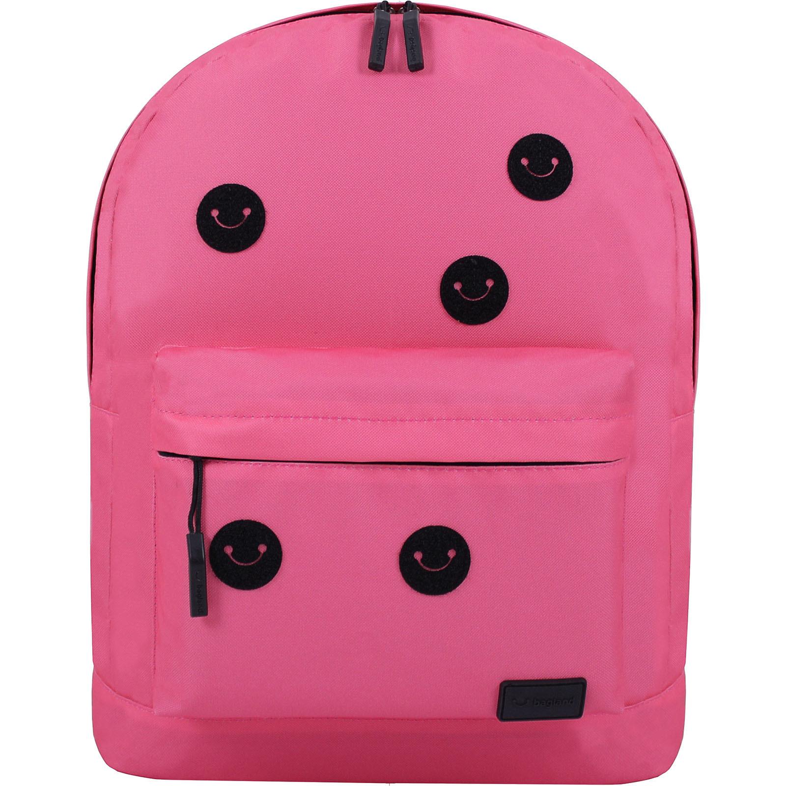Рюкзак Bagland Молодежный W/R 17 л. Розовый (00533664 Ш) фото 5