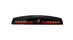 Парктроник 4Drive 4Z-51/M40 BL Main с 4-мя датчиками черного цвета