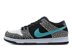 Nike Dunk Low 'Grey/Black/White/Light Blue'