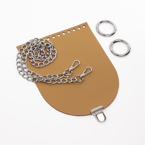 """Комплект для сумочки Орео """"Мёд"""". Цепочка и замок """"Малыш"""""""